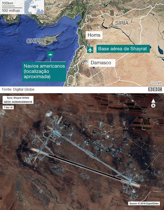 Ataque dos EUA à Síria: O que sabemos até agora?