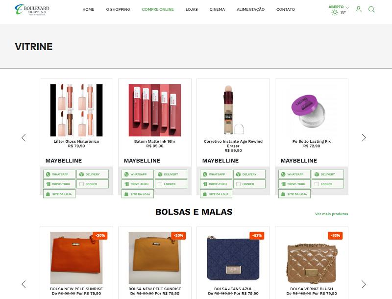 Boulevard Shopping tem diversas lojas com ofertas especiais na Semana Brasil