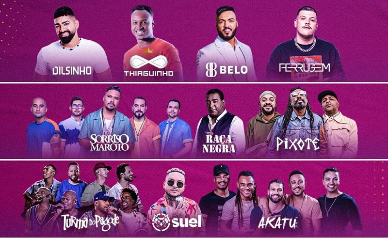 O Último Samba do Ano confirma grandes shows em dezembro